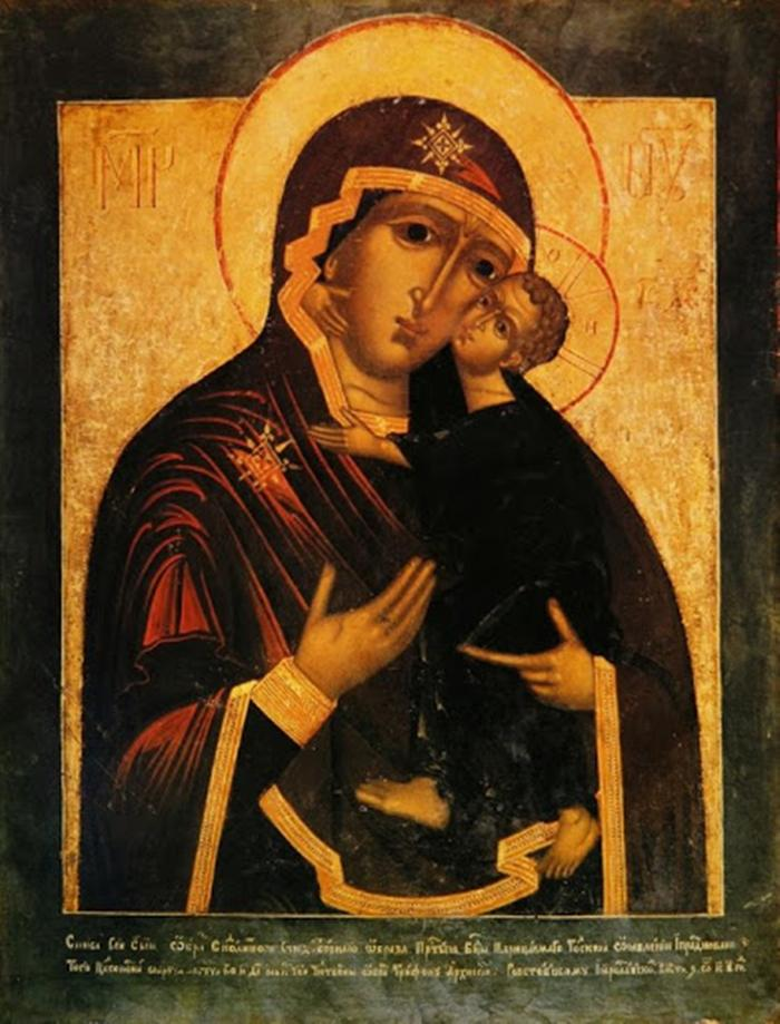 икона толгской иконе божией матери