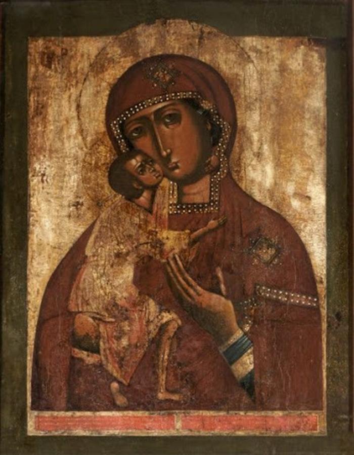 феодоровская божья матерь икона фото