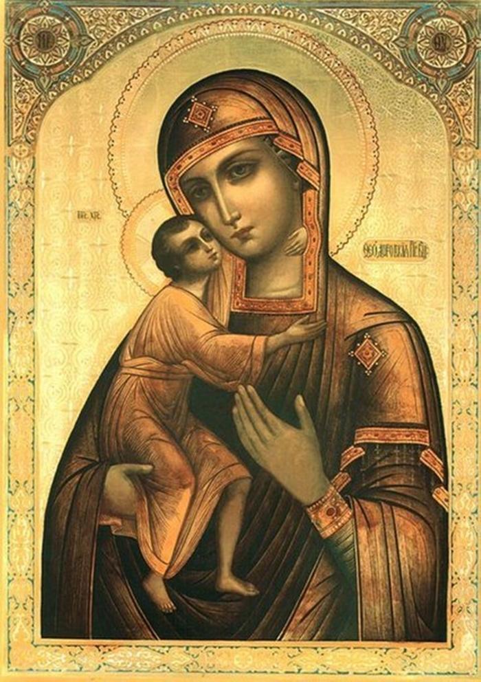 феодоровская божья матерь фото иконы