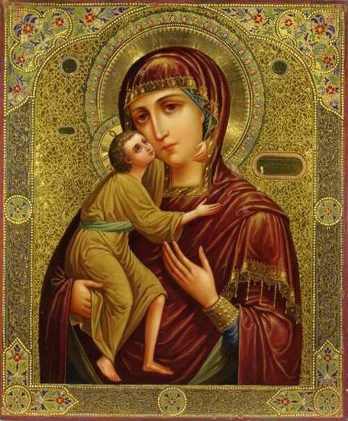 Икона феодоровская божья матерь фото