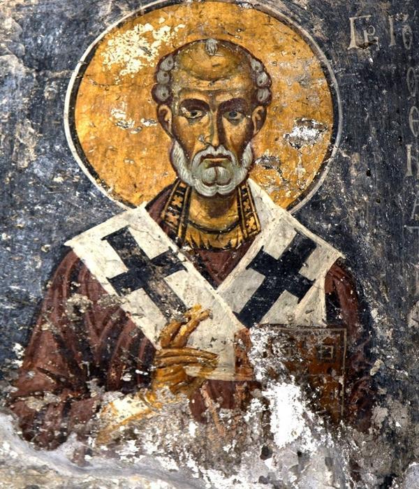 Григорий Чудотворец на иконе