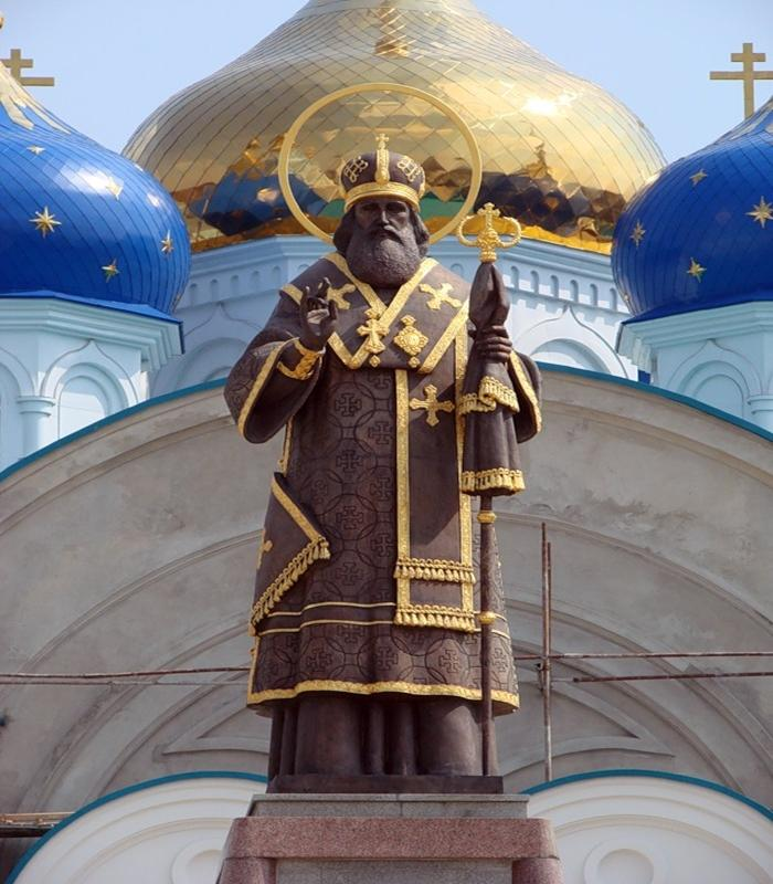 Памятник Тихону Задонскому