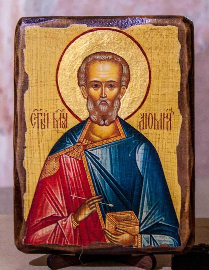 святой диомид икона