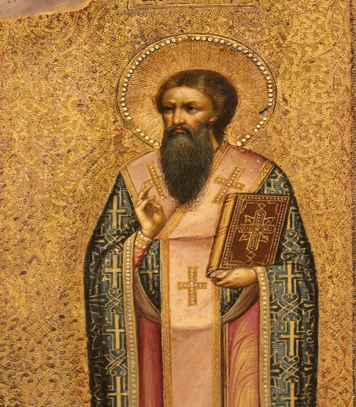 Икона Василию Великому