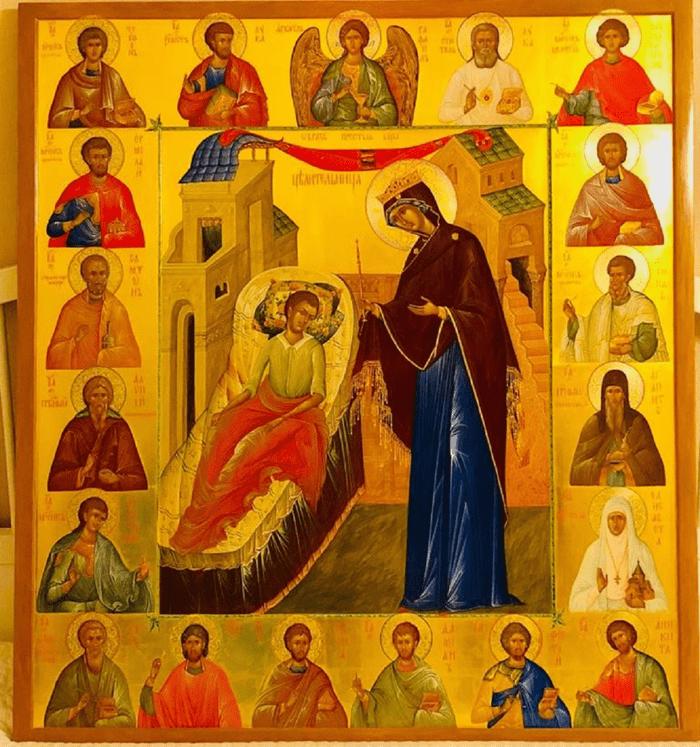 икона целительнице акафист