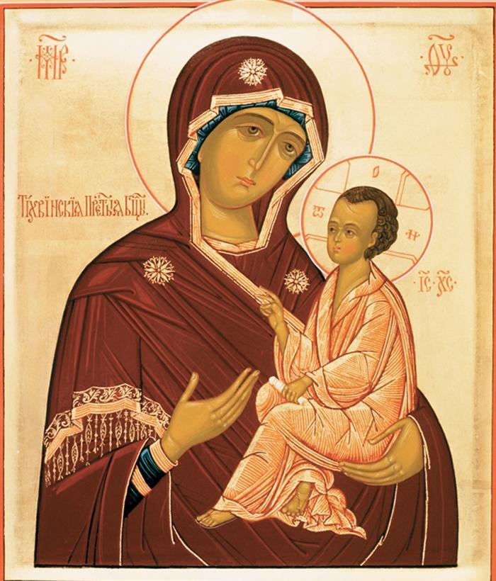 тихвинская божья мать
