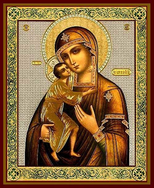феодоровская божья матерь новая икона