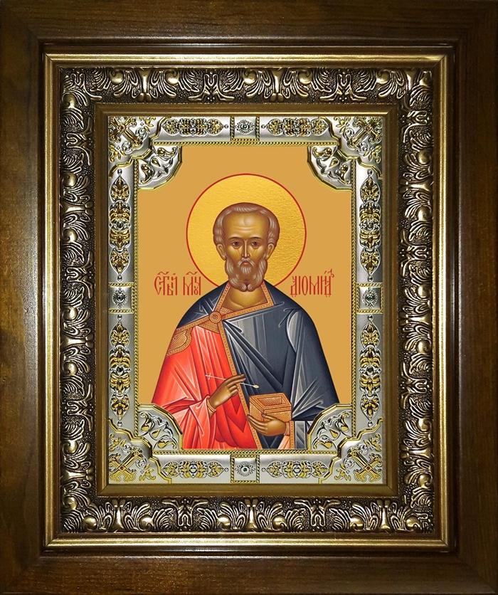 Икона святой диомид