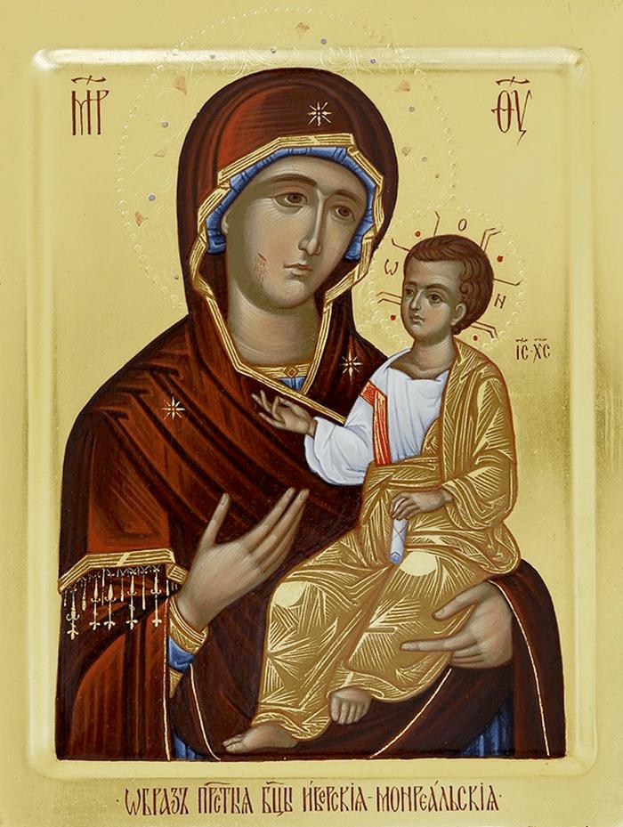 акафист иверской иконе божией матери фото