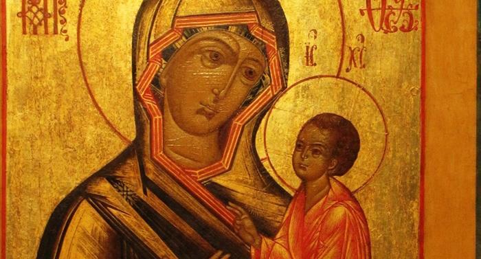 икона тихвинской иконе божией матери фото