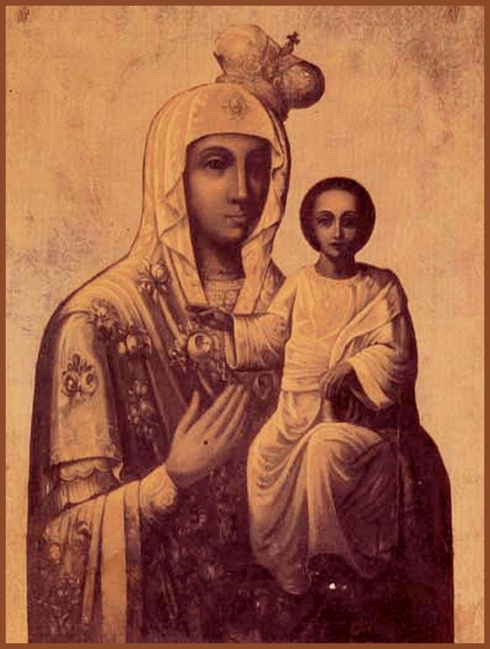 акафист иверской иконе божией матери старая икона