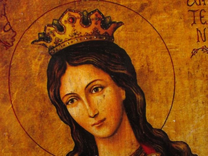 святая екатерина фото лица