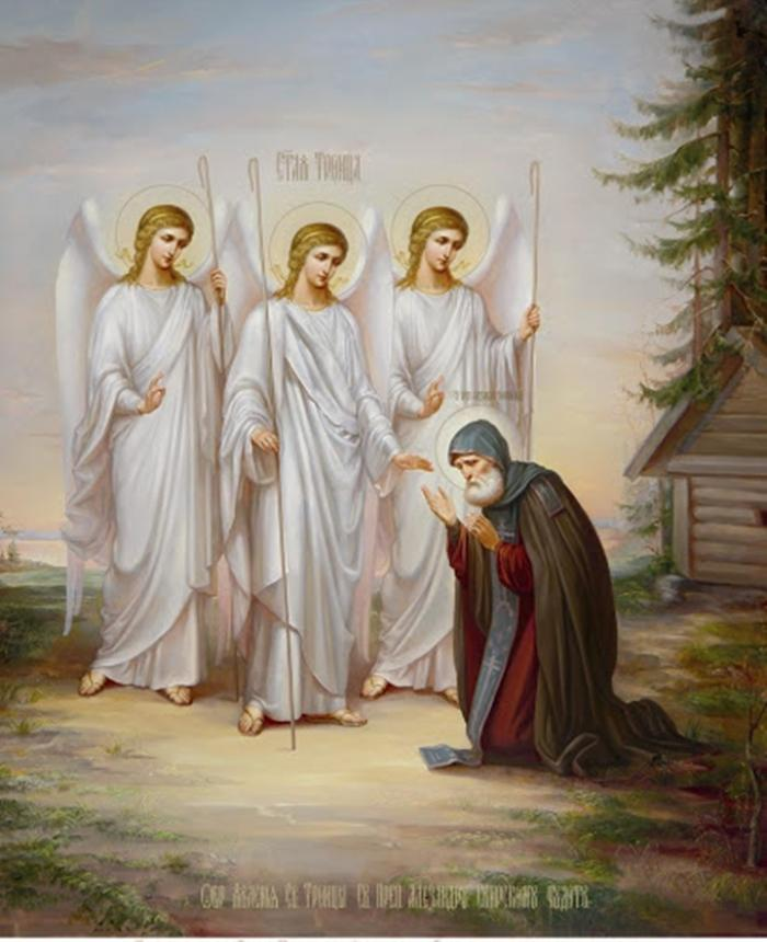 александр свирский картина с ангелами