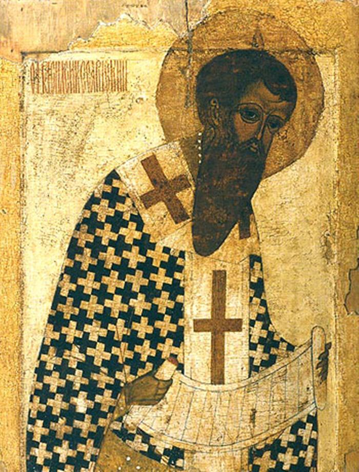Василий Великий икона