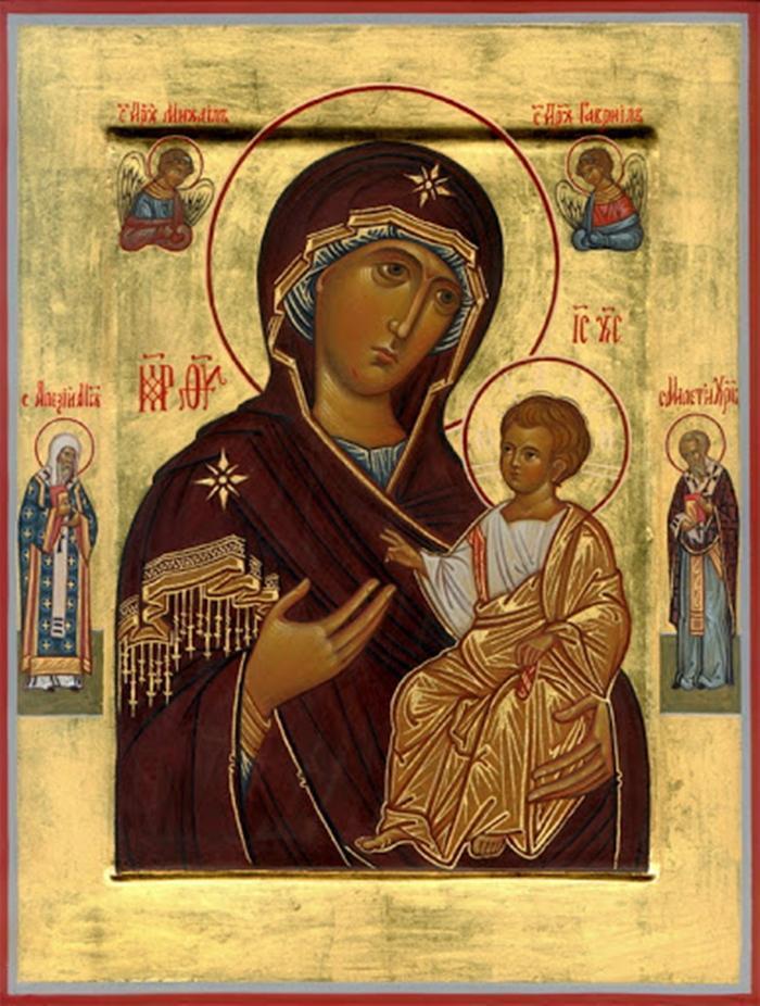 Икона иверской иконе божией матери
