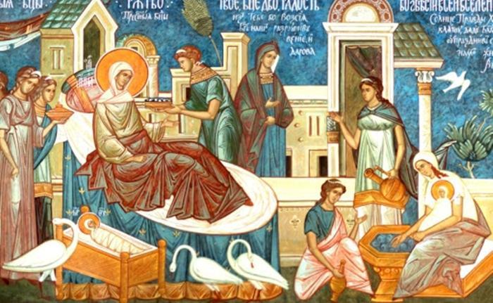 Рождество Пресвятой Богородицы икона