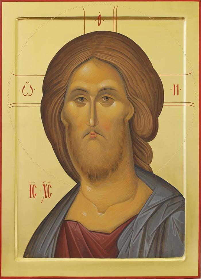 икона перед выходом из дома иисусу