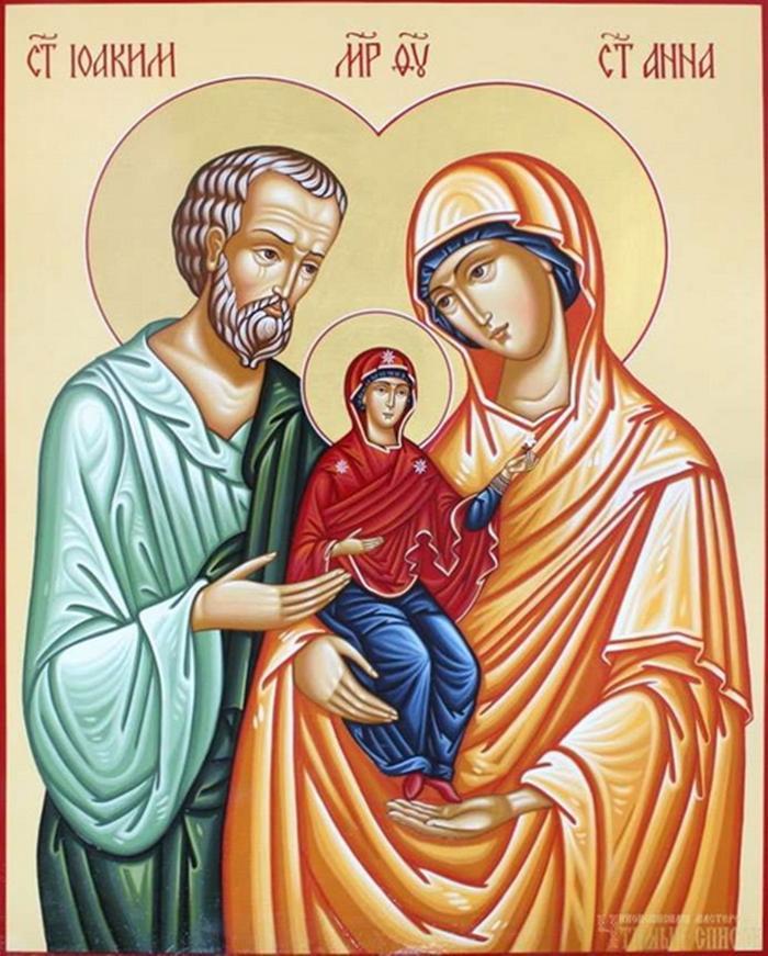 икона анне и иоакиму о даровании детей фото