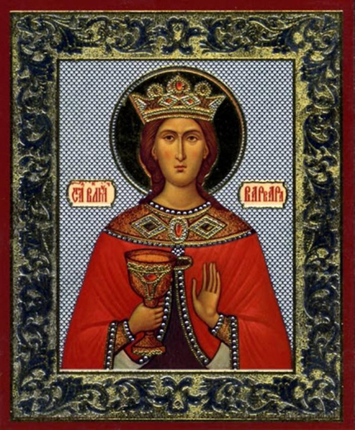 икона варваре великомученице фото