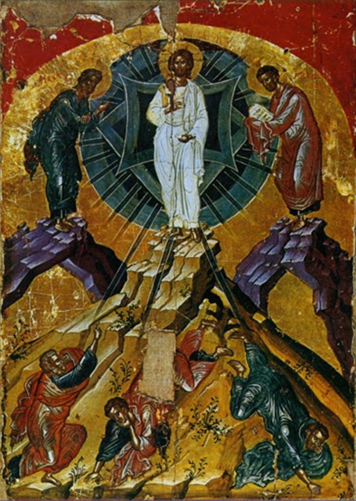 икона Преображение Господне фото