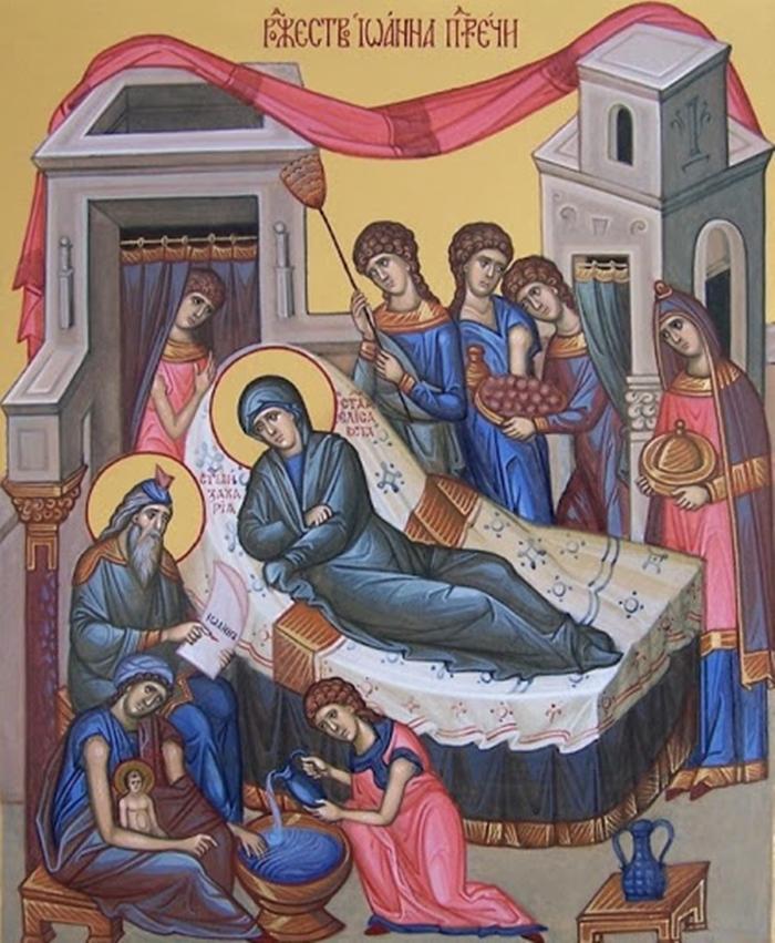 Икона Рождество Иоанна Крестителя