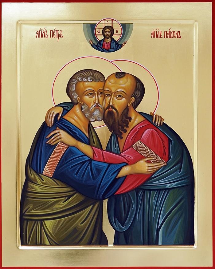 икона апостолов Петра и Павла