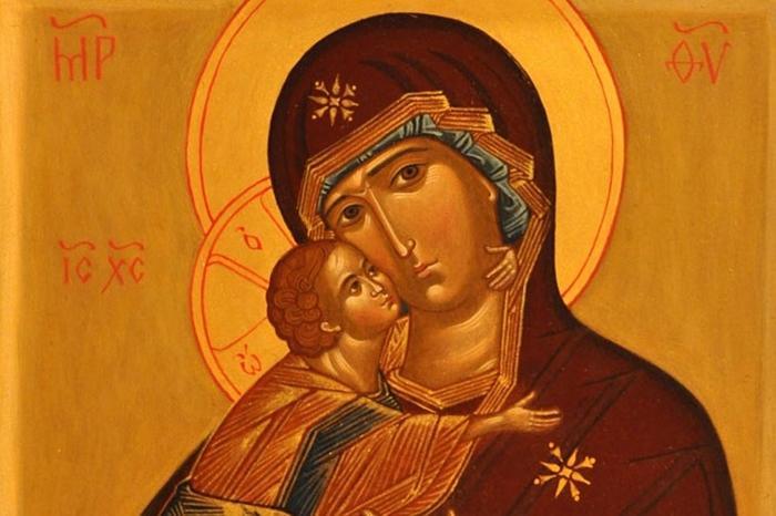 икона владимирской иконе божией матери фото