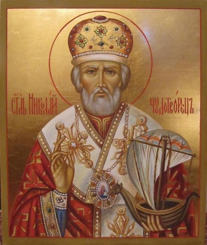 Николай Чудотворец икона