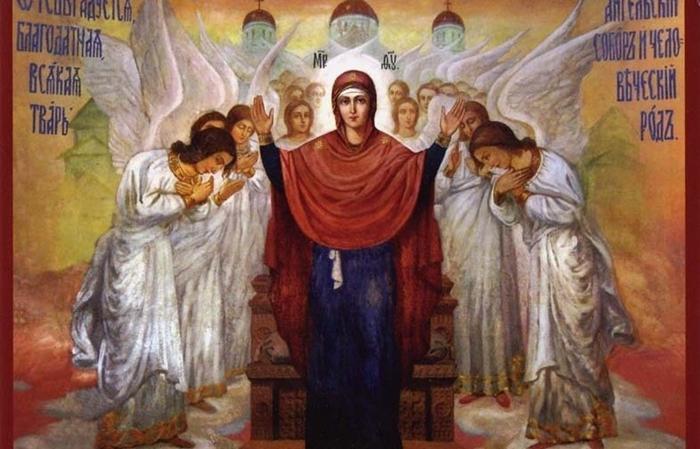 иконой Богородицы «Нерушимая стена»