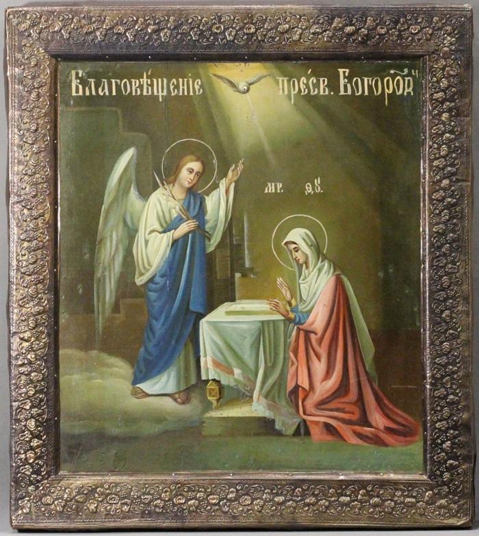Благовещение Пресвятой Богородицы икона