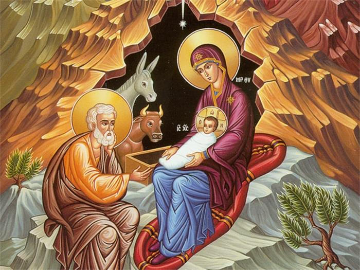 Рождественский пост икона