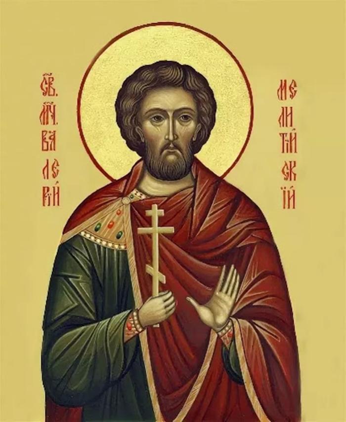 икона Великомученику Полиевкту