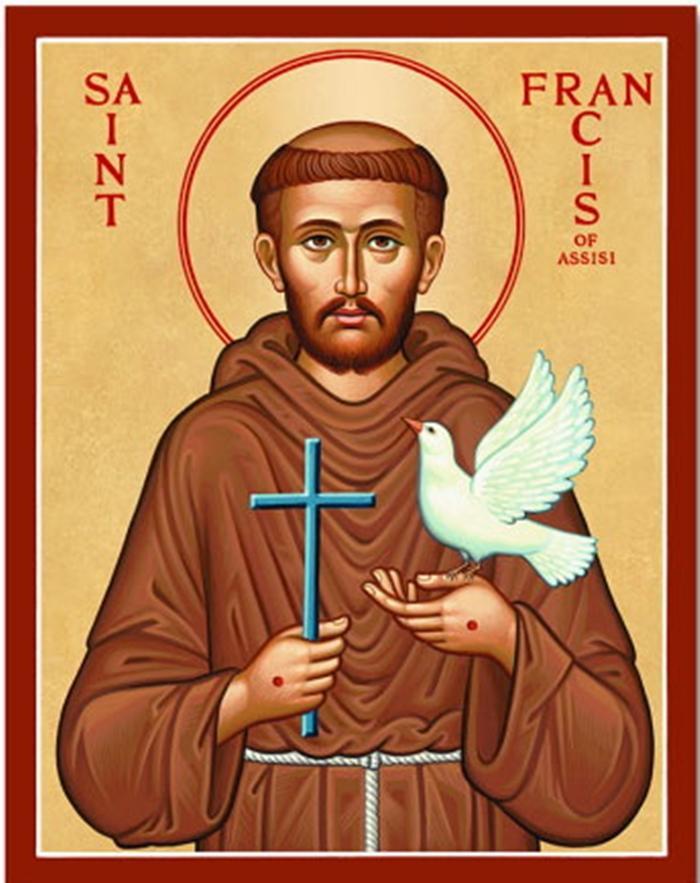 икона франциска ассизского