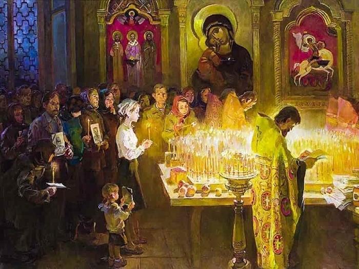 Суббота 2-й седмицы Великого поста в церкви