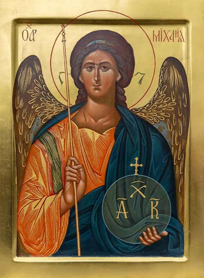 икона архангелу михаилу