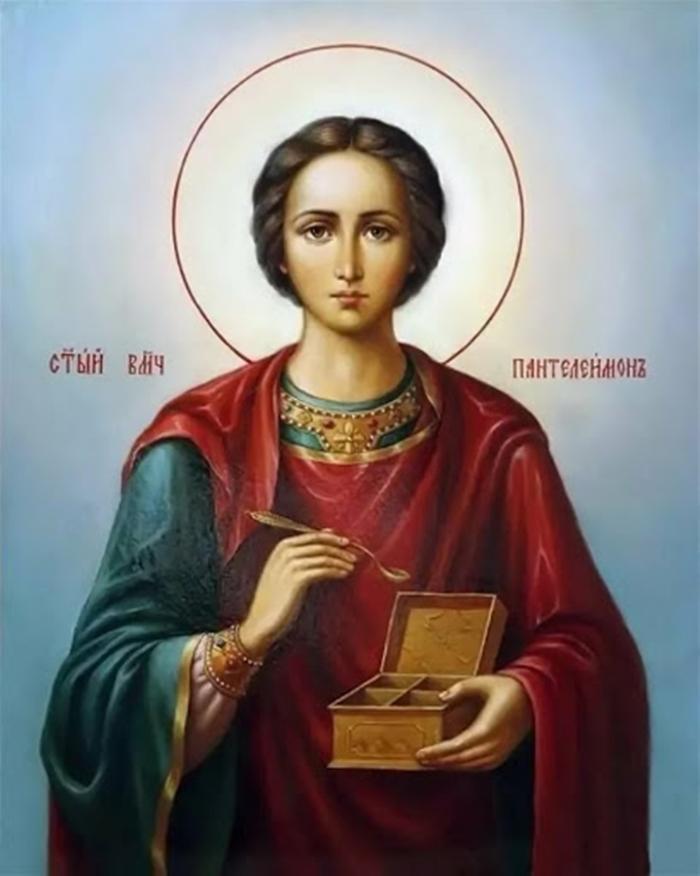 икона Пантелеймону Целителю