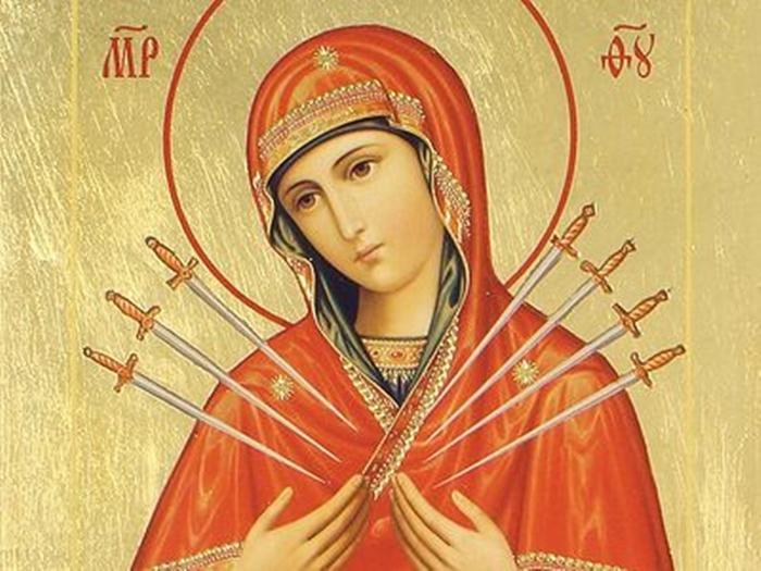 Перед иконой «Умягчение злых сердец»