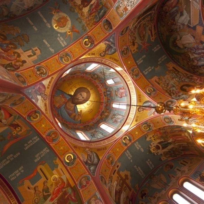 храм рисунок сорокоуст