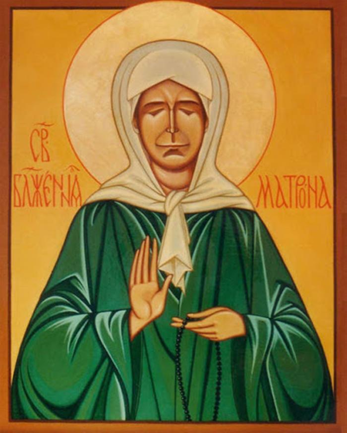 икона от чревоугодия Матроне Московской