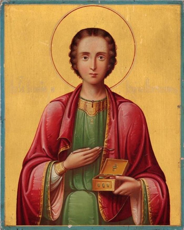 икона Целителю Пантелеймону