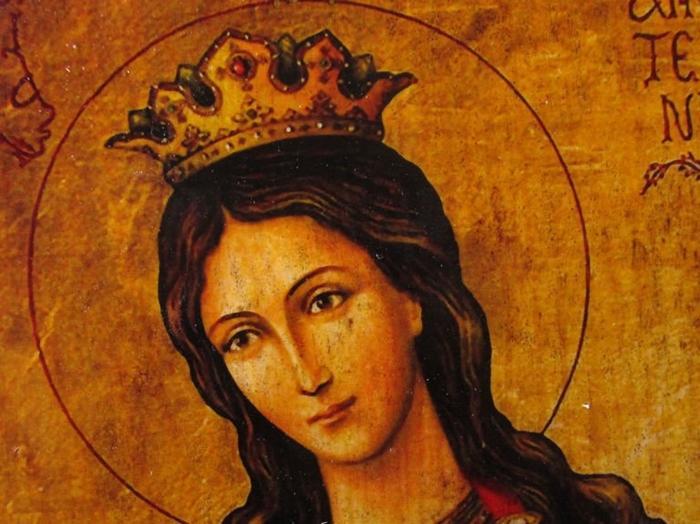 икона великомученице екатерине