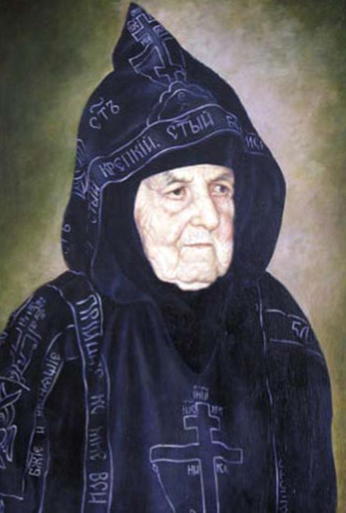 икона сепфоре схимонахине