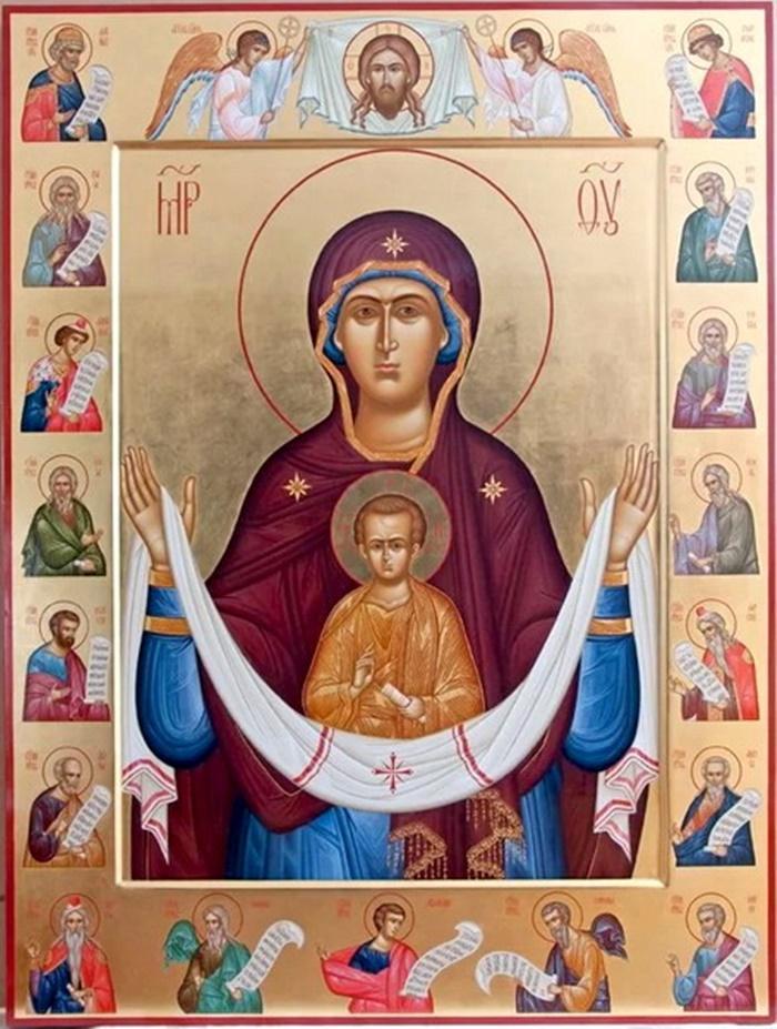 молитва Покров Пресвятой Богородицы