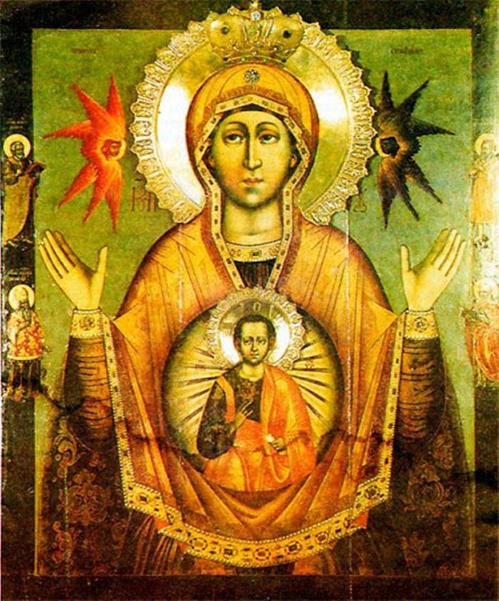 икона богородице царскосельской знамение