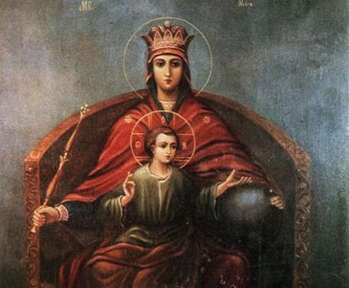молитва к иконе державная божья матерь фото