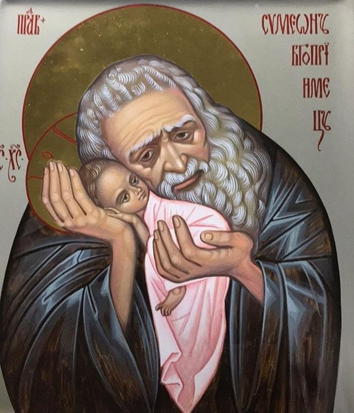 икона Симеону Богоприимцу