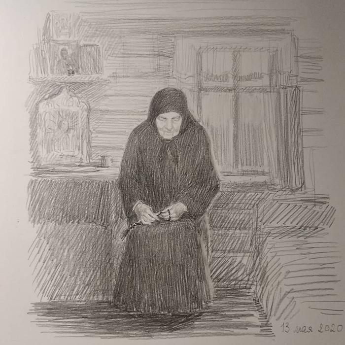 рисунок сепфоре схимонахине