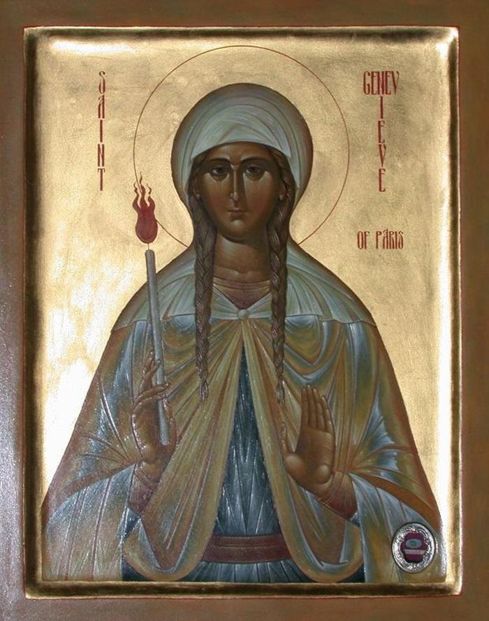 святая женевьева