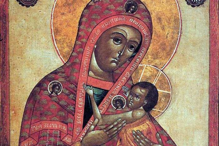 акафистная икона божией матери