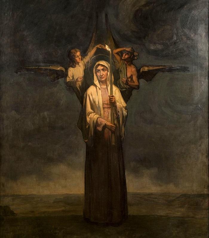 святая женевьева фото
